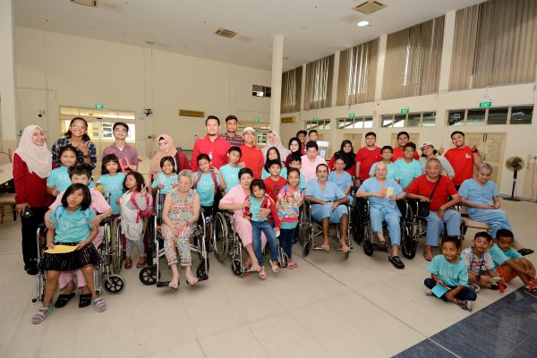 Ramadan 4 Life event at the Society for the Aged Sick Nursing Home, on Saturday, June 2, 2018. Photo: MUIS