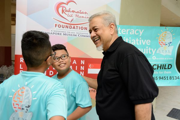 Ramadan 4 Life event by Rahmatan Lil Alamin Foundation at Block 8 Lorond Lew Lian on Saturday, June 9, 2018. Photo: MUIS