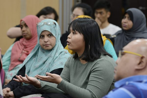 Rahmatan Lil 'Alamin Foundatian Disability Awareness meeting at Singapore Islamic Hub on Friday, 22 November, 2019. Photo: MUIS